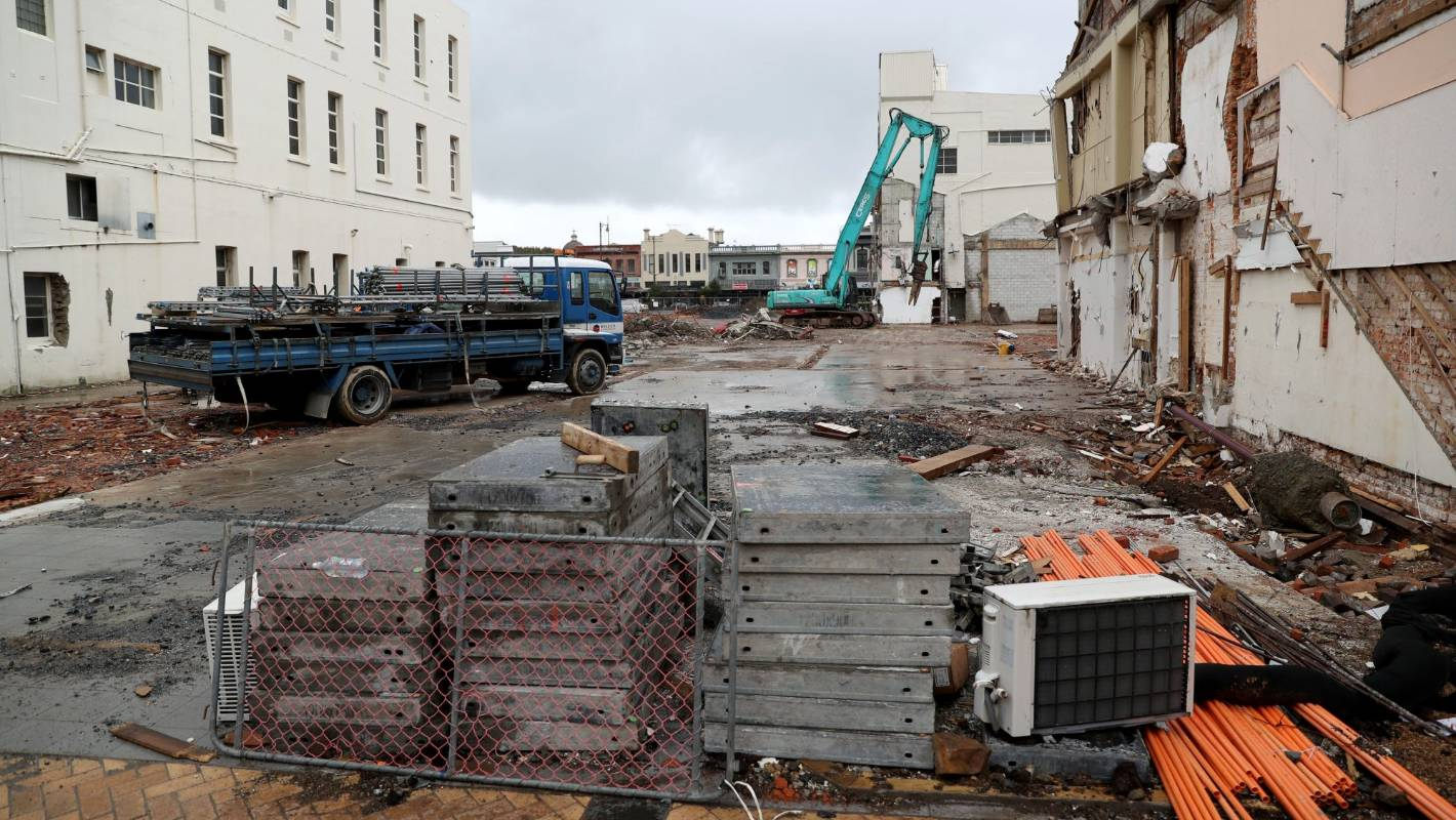 Coronavirus: Setback for Invercargill CBD development as demolition stops