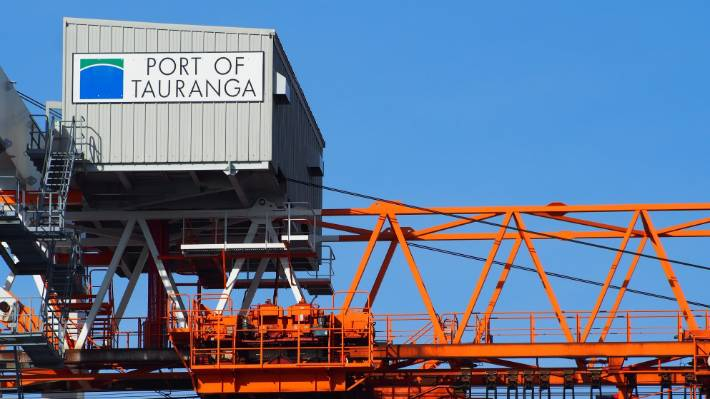 Port of Tauranga says non-essential freight can be stacked next to its terminals but will then take time to retrieve, so it is important essential goods are identified first.