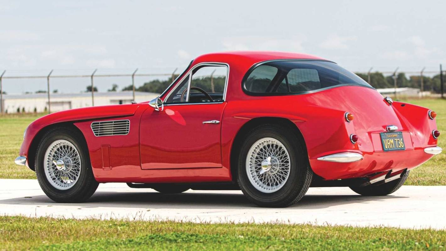 An original TVR Griffith prototype is up for sale