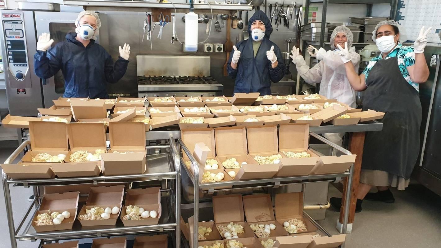 Heroes of the Frontline: Wellington's soup kitchen
