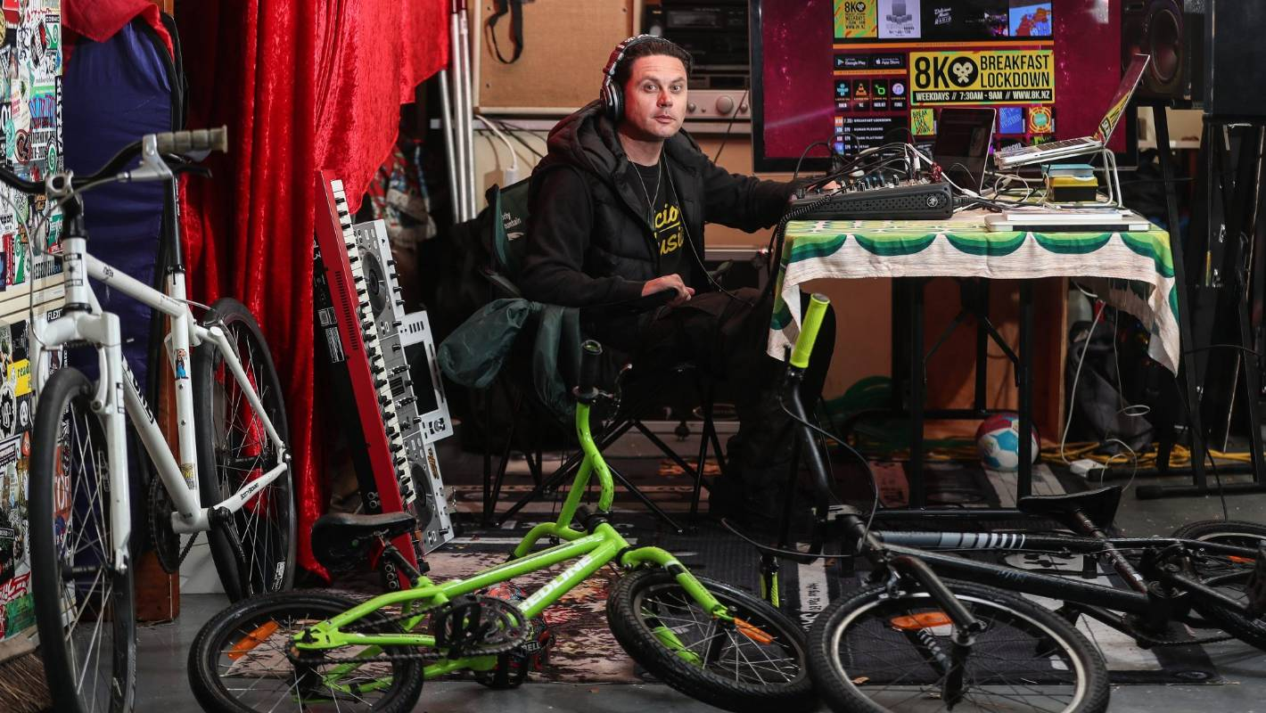 The Quarantine Files: Christchurch's garage radio keeping idle hands busy