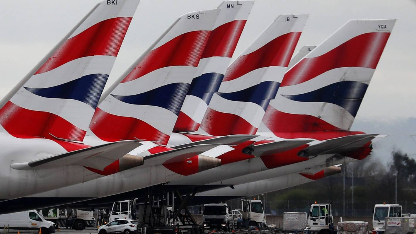 British Airways suspends 30,000 workers