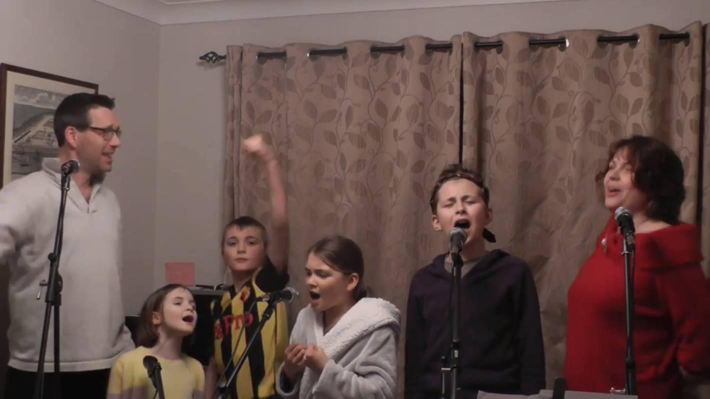 UK family film Les Miserable lockdown parody video