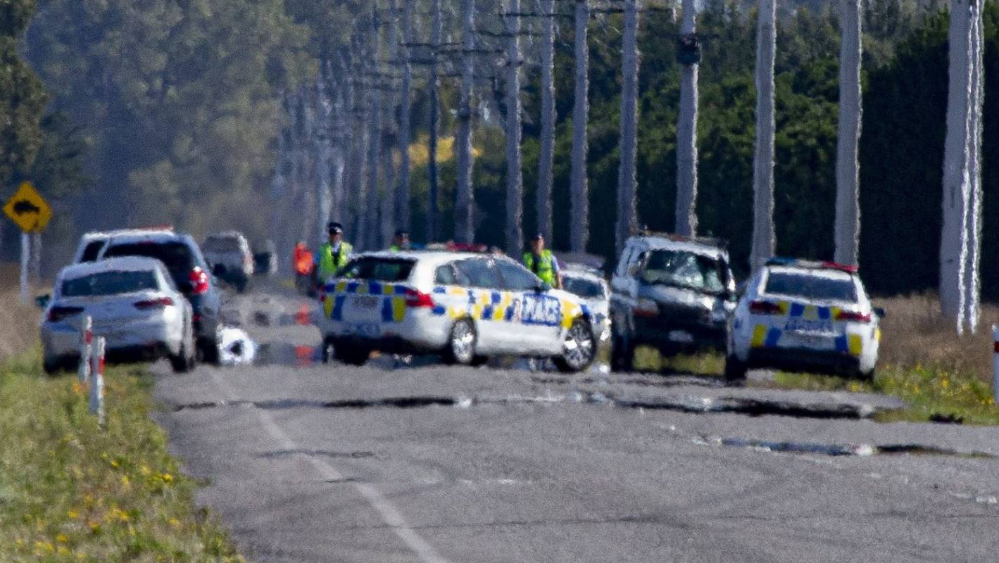 Cyclist killed after crash in North Canterbury