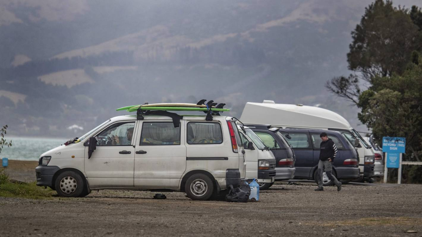 Coronavirus: Self-isolating Christchurch freedom campers rounded up