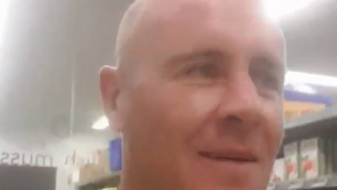 Coronavirus: Man arrested after filming himself coughing on fellow shoppers - Stuff.co.nz