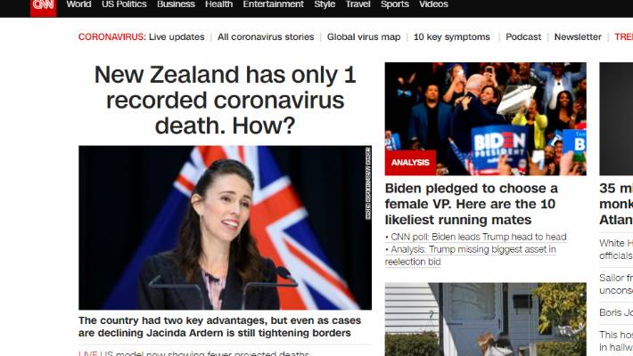 Coronavirus More International Praise For New Zealand S Response To Covid 19 Stuff Co Nz