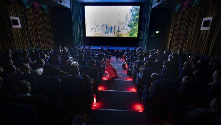 The one-screen Academy Cinema in Auckland has embraced video-on-demand.