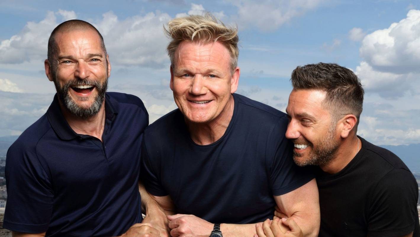 Celebrity chefs on the road again for Gordon, Gino And Fred's Road Trip