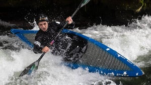Paddling for gold from the family bach