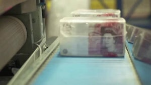 Missing: £50 billion in British bank notes
