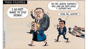 Sharon Murdoch cartoon for October 30, 2020