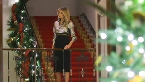 Melania Trump unveils her final White House Christmas decorations