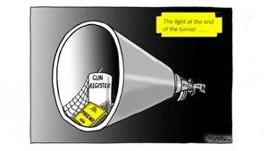 Jim Hubbard cartoon for December 3, 2020