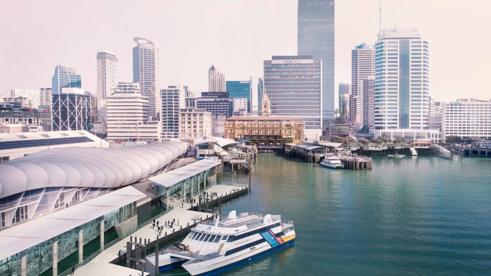 Auckland's city centre transformation
