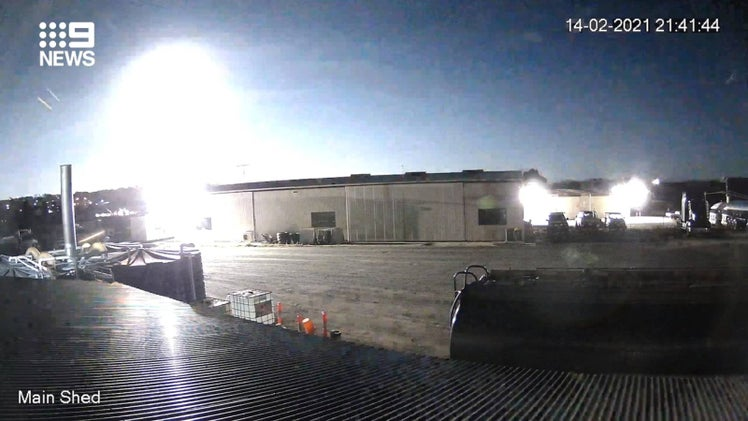 Meteor spotted above Melbourne