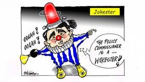 Jim Hubbard cartoon for February 25, 2021