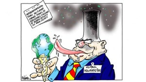 Jim Hubbard cartoon for March 03, 2021