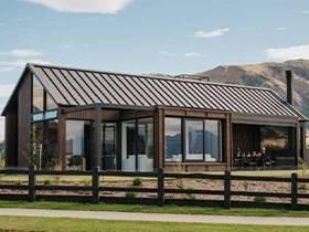 Designer homes looking for buyers in Wanaka.