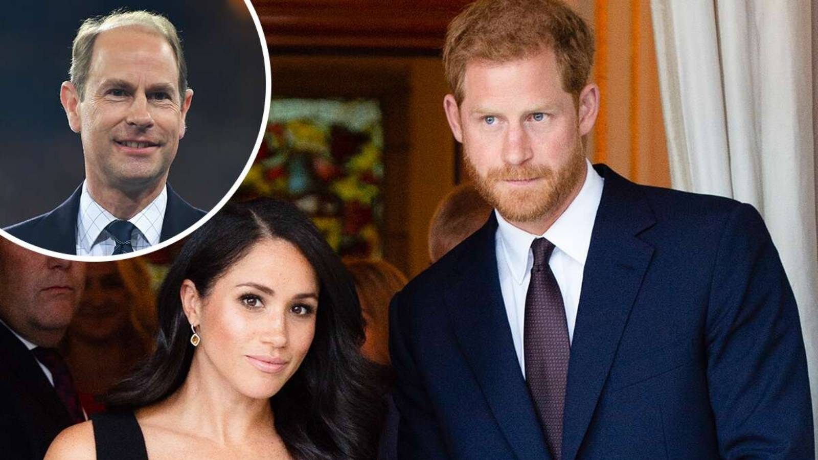 Prince Edward weighs in on Meghan Markle and Prince Harry's royal rift
