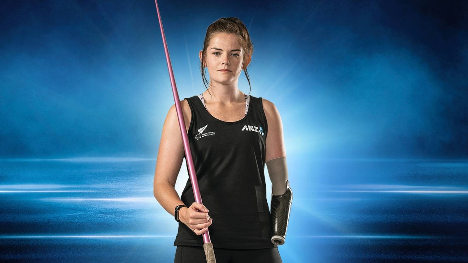 Holly Robinson focussed on gold