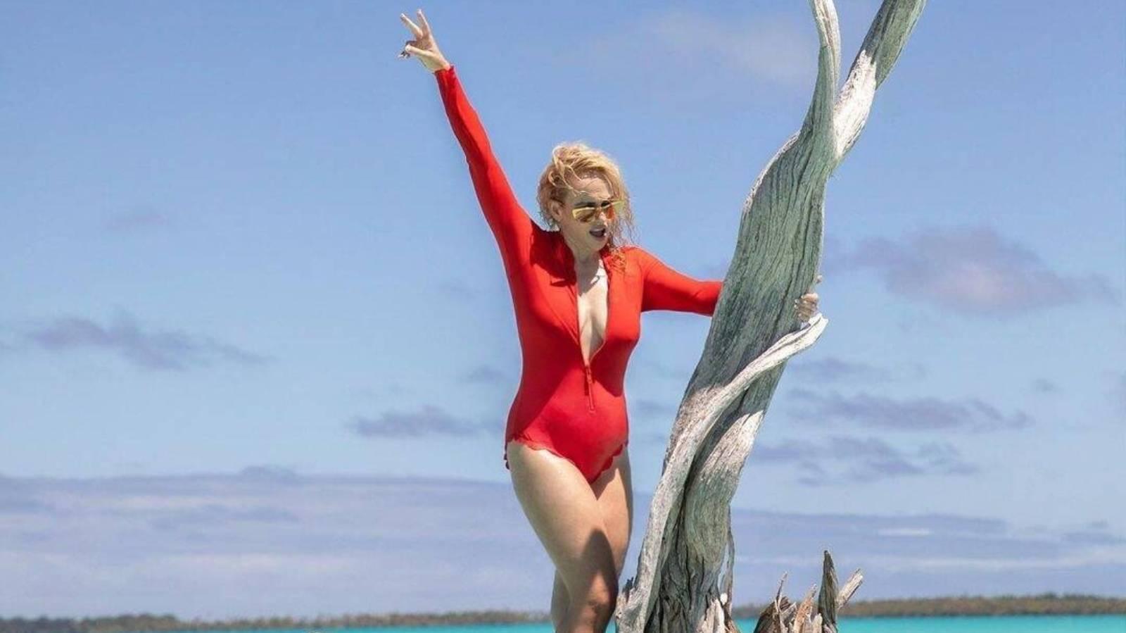 Rebel Wilson's island getaway motivation