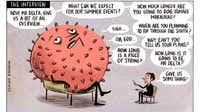 Sharon Murdoch cartoon for October 20, 2021