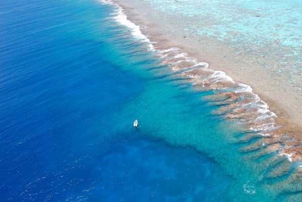Tetiaroa reef.