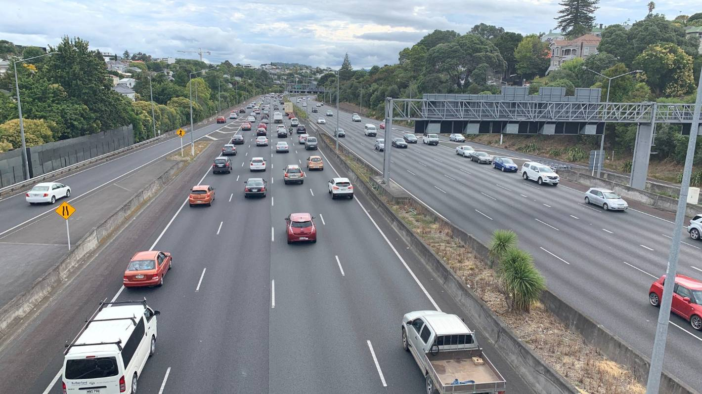 Auckland traffic live: Victoria Park Tunnel crash cleared