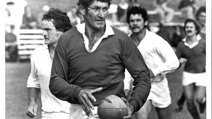 Alan Sutherland played for Marlborough from 1962 to 1976.