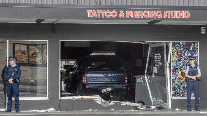 It's believed gang rivals were responsible for an attack on a Mongols-linked tattoo parlour in Christchurch earlier this year.