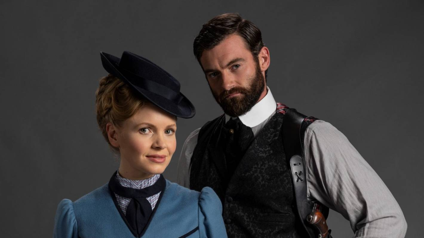 Victorian crime-fighters Miss Scarlet And The Duke are TV's latest odd couple