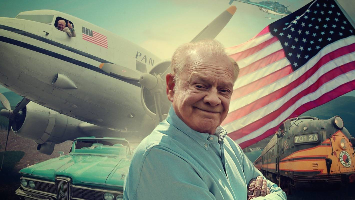 Actor David Jason travels by Planes, Trains and Automobiles in new series