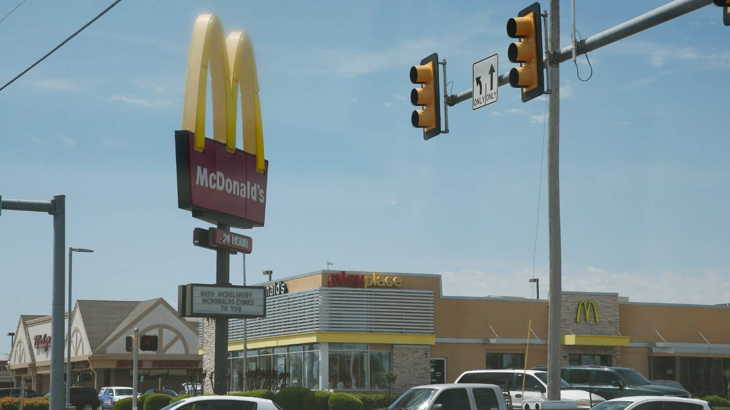 Woman shoots at McDonald's staff as U.S. tensions rise over lockdown