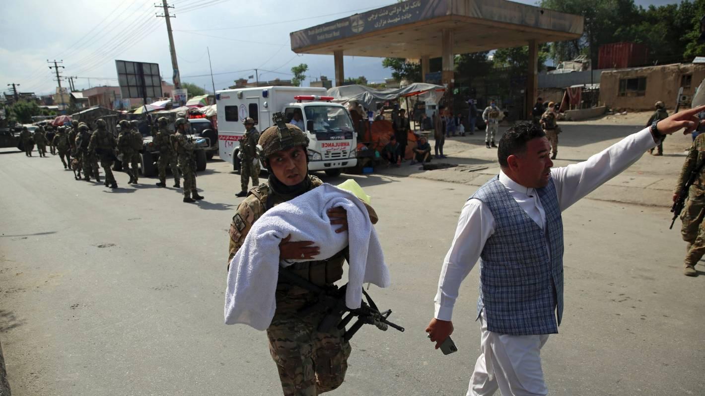 Mothers, newborns among 16 dead after gunmen storm Afghanistan ...