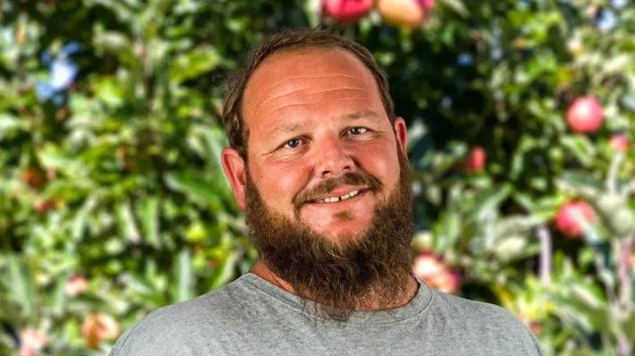 Ben James, operations manager at Rockit Apples in Hawke's Bay.