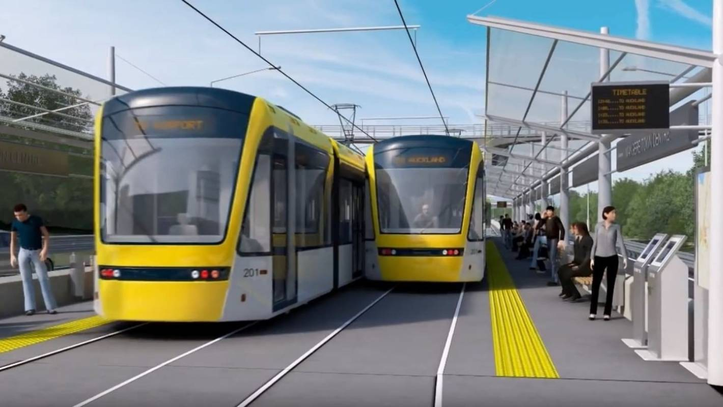 NZ Super Fund still in the picture as Auckland light rail heads to the election