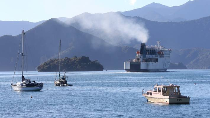 Picton residents started voicing their concerns about fumes from Cook Strait ferries in 2018.