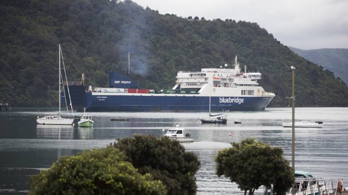 Bluebridge is one of two companies which ferry passengers and freight across Cook Strait.