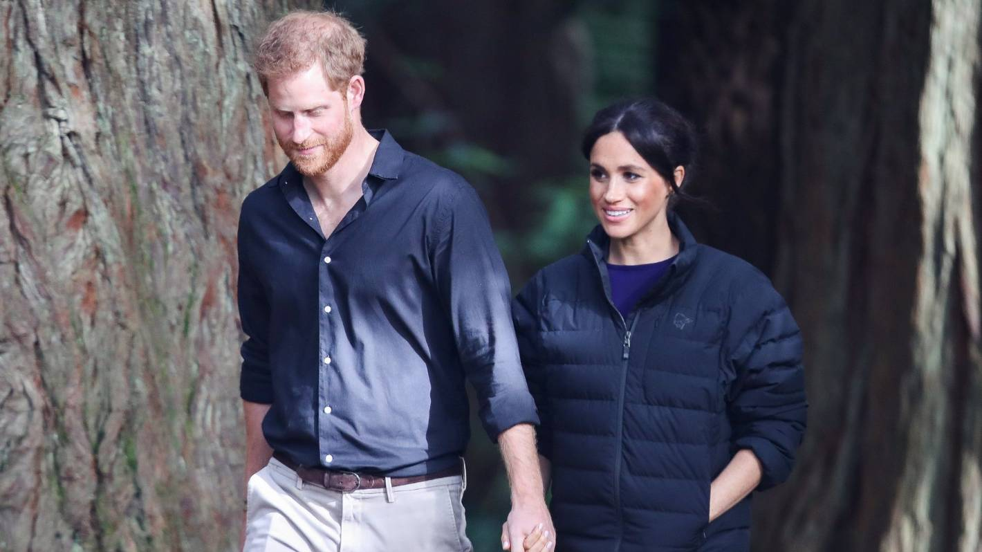 Prince Harry and Duchess Meghan close their Sussex...