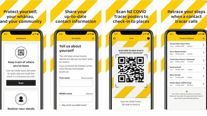 Nz Covid Tracer What Our Coronavirus Contact Tracing App Looks Like Stuff Co Nz