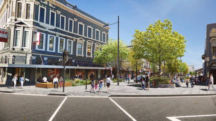 Could this be the future for Dunedin's George St?