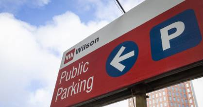 Wilson Parking is cutting prices by up to 60 per cent at some sites as occupancy plummets.