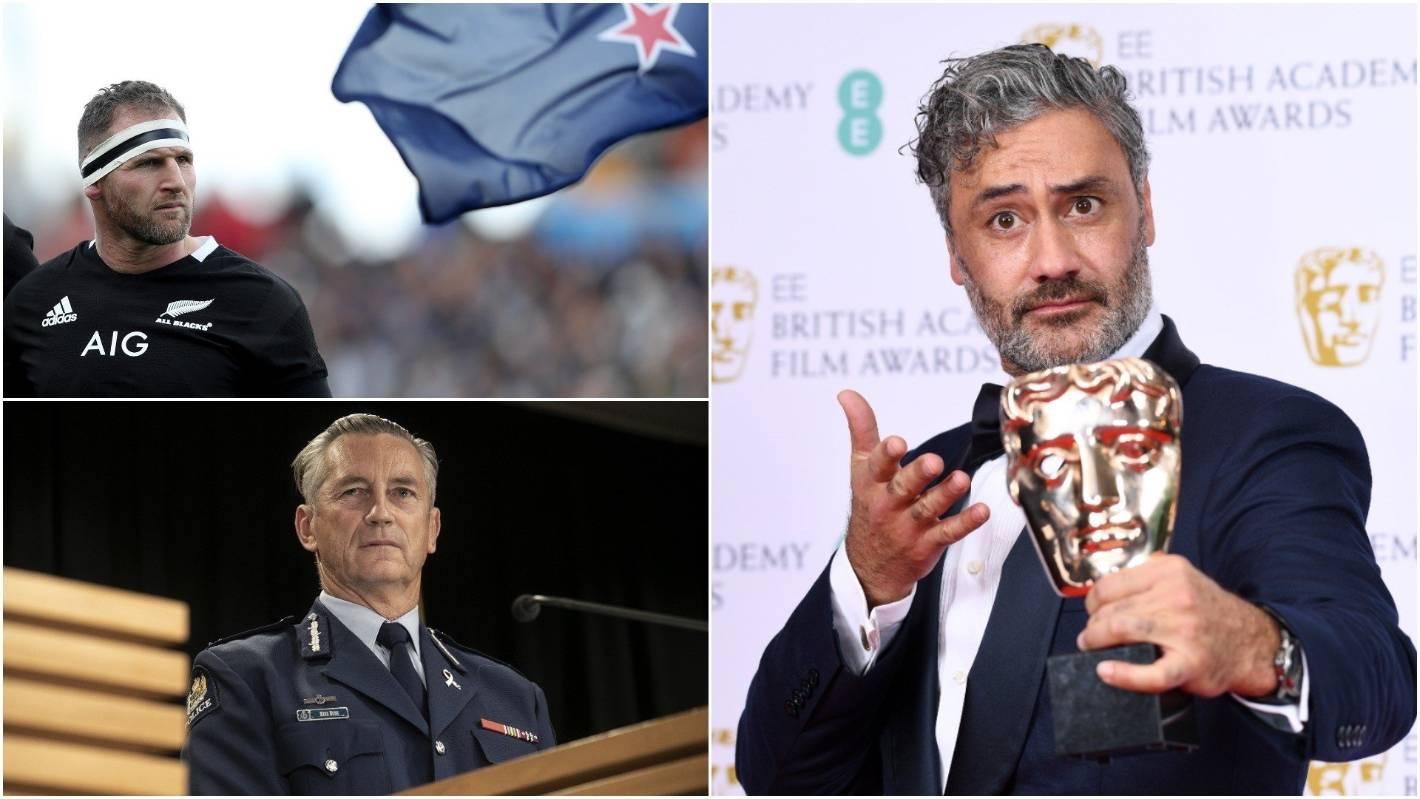 Taika Waititi, Mike Bush, Kieran Read awarded Queen's Birthday Honours