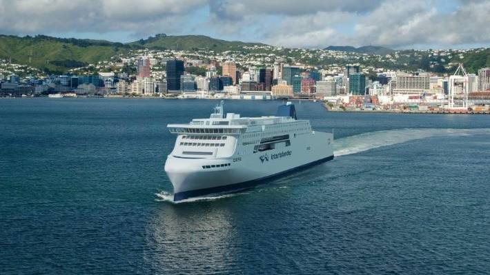 The concept design for the new Interislander ferry in Wellington Harbour.
