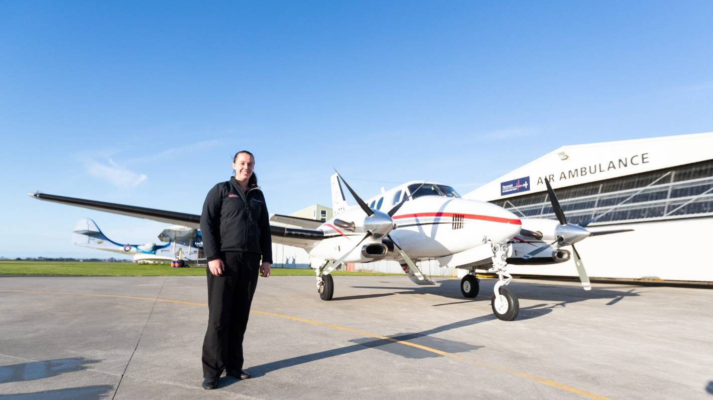 Taranaki air ambulance flying high after turbulent year