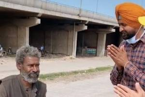 Police officer Ajaib Singh shared a video of a man in Ludhiana, Punjab, on TikTok that helped him reconnect with his ...