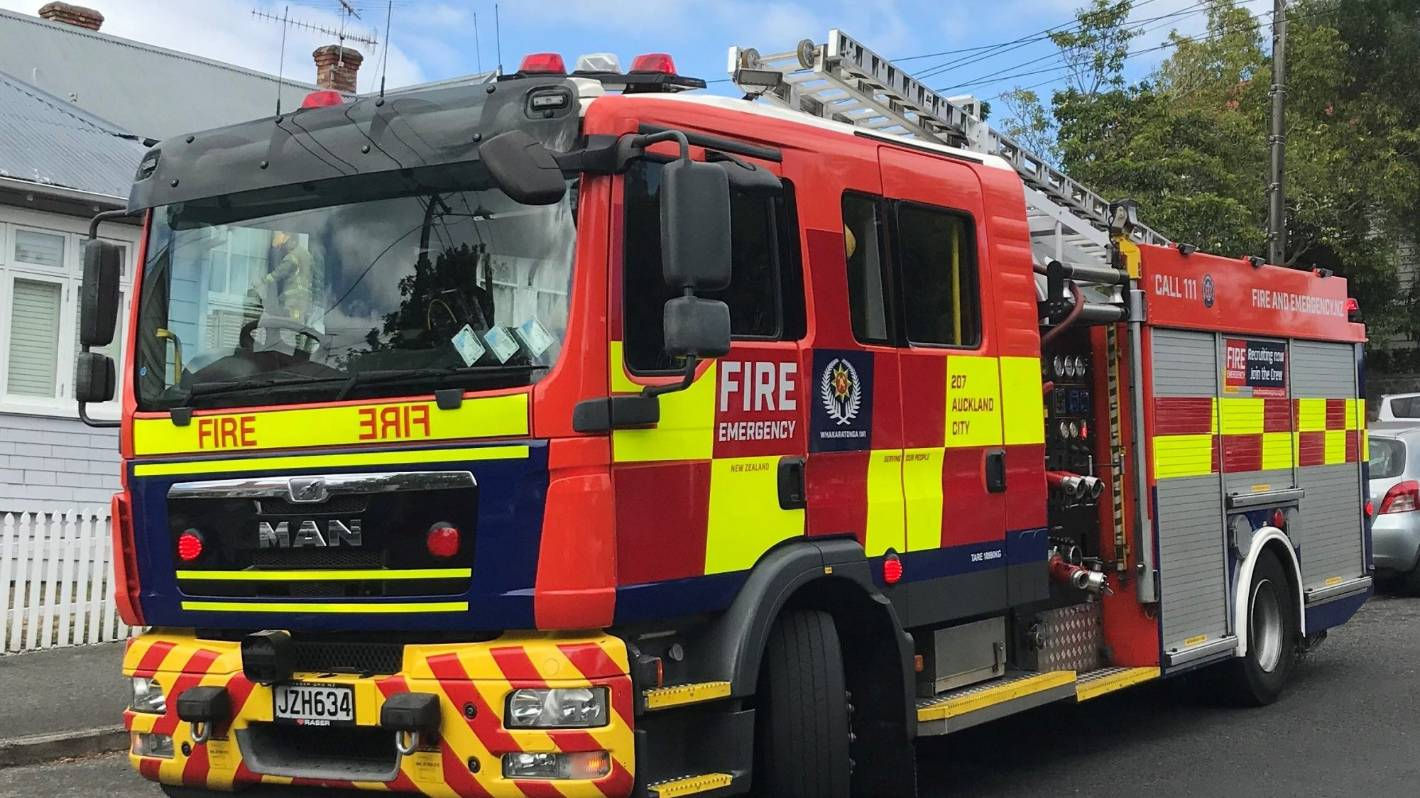 Residents escape unscathed from fire at Ashburton home