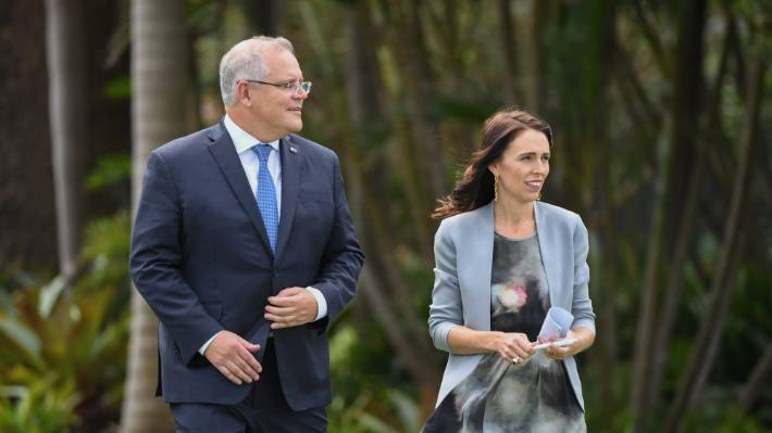 Australia's Prime Minister Scott Morrison has clashed with his NZ counterpart Jacinda Ardern over visa cancellations and the public comments of some of her ministers.