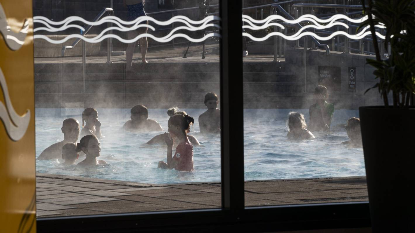 Hot saltwater pools sell-out for opening weekend